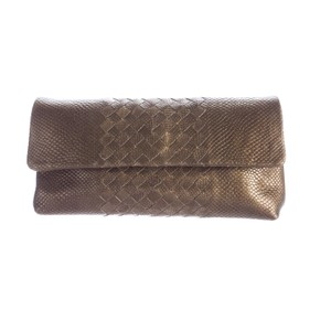 Bottega Veneta light gold Clutch