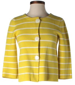 J.Crew Yellow Striped Blazer