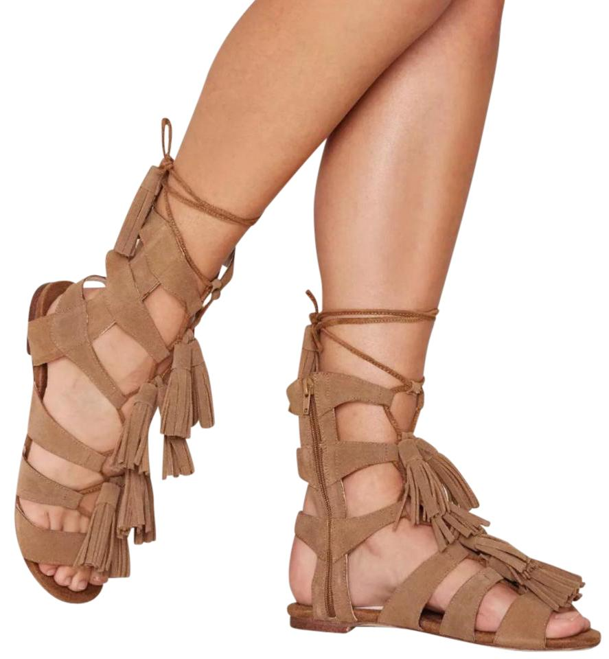 fd8df2d2acc6 Jeffrey Campbell The Hang Of Four Gladiator Sandals Size US 9 ...
