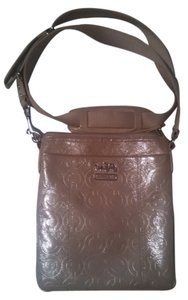 Coach Tan Cross Body Bag