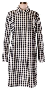 J.Crew Checkered Trench Coat