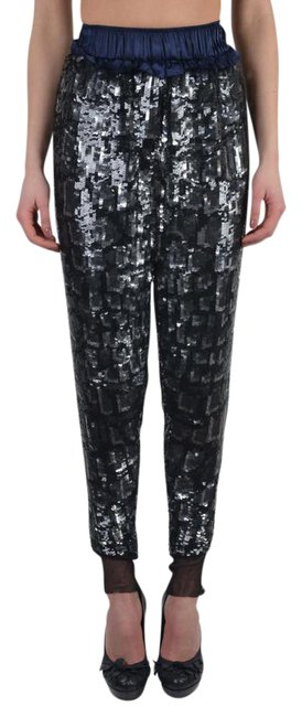 Item - Multi-color Women's Sparkle Elastic Waist Casual Pants Size 4 (S, 27)