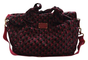 Marc by Marc Jacobs Gray, Hot Pink, Black Diaper Bag