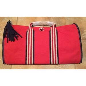 Tory Burch Canvas Casual Sporty Cherry Apple Travel Bag