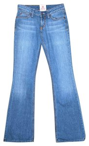 People's Liberation Designer Boot Cut Jeans-Distressed