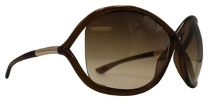 Tom Ford Brandy Brown Butterfly Whitney Sunglasses TF9 692