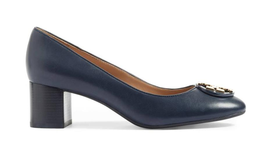 47cf6fc1193 Tory Burch Navy Janey Pumps Size US 8.5 Regular (M