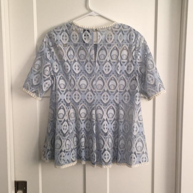 Anthropologie Top Baby Blue Image 1
