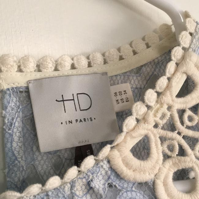 Anthropologie Top Baby Blue Image 3