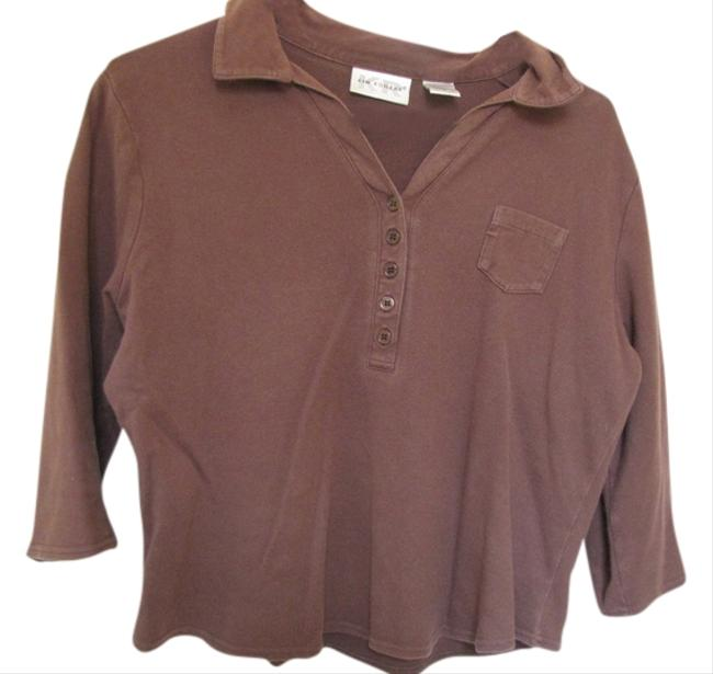 Kim Rogers T Shirt Brown