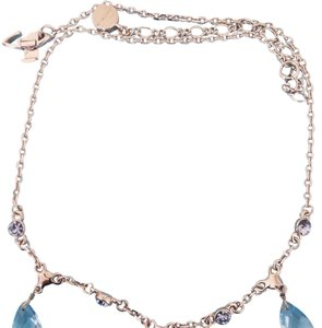 Givenchy Vintage givenchy baby blue crystal necklace