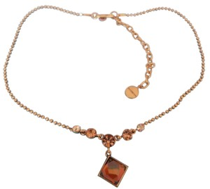 Givenchy Vintage givenchy yellow crystal necklace