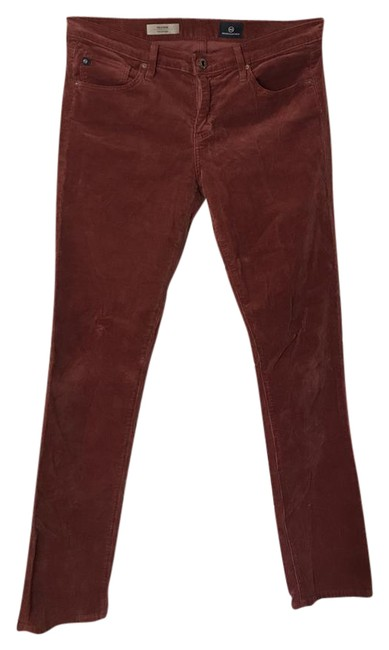Item - Dark Red The Stevie Fit Straight Leg Jeans Size 30 (6, M)