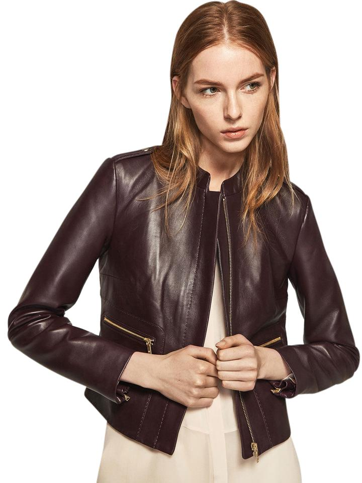 1bfc655ca Brown Nappa Leather Jacket