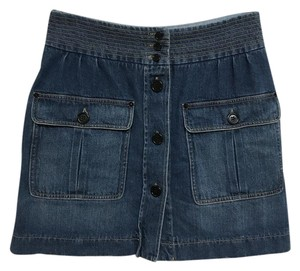 Chlo Chloe Mini Skirt Denim