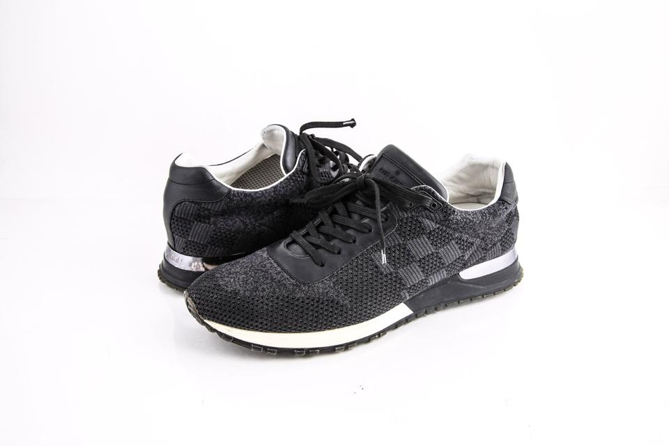 28a0c7c9a0a0 Louis Vuitton   Run Away Sneakers Charcoal Shoes - Tradesy