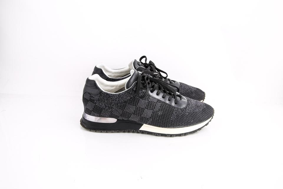 8cfc17fcc3c2 Louis Vuitton   Run Away Sneakers Charcoal Shoes Image 6. 1234567