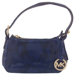 Michael by Michael Kors Navy Clutch