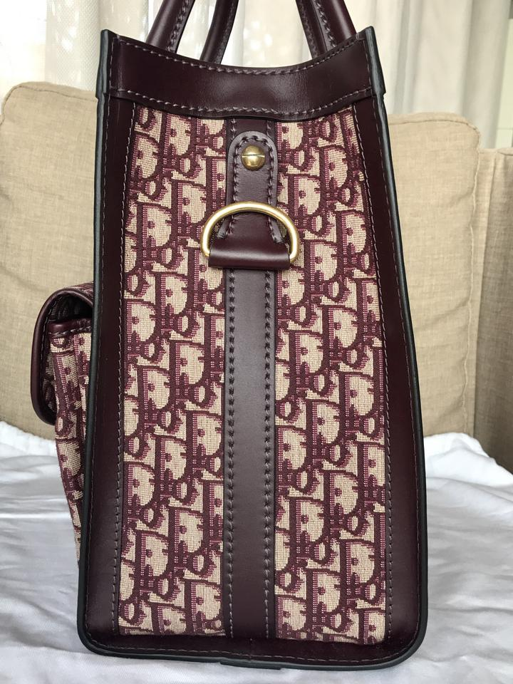 53bb6d7debba Dior Extra 150 Off with Coupon Oblique Monogram Red Burgundy ...