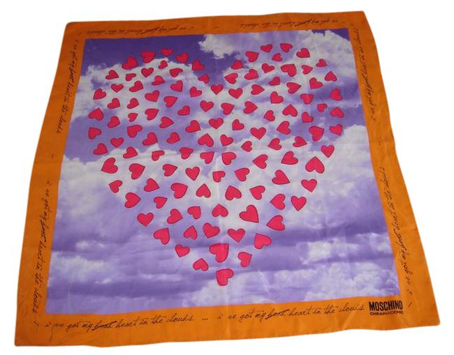 Item - Orange/Multi Scarf/Wrap
