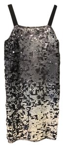 Rozae Nichols Sequin Evening Mini Dress