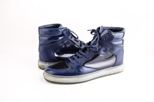 Balenciaga Patent Leather High Trainers Shoes