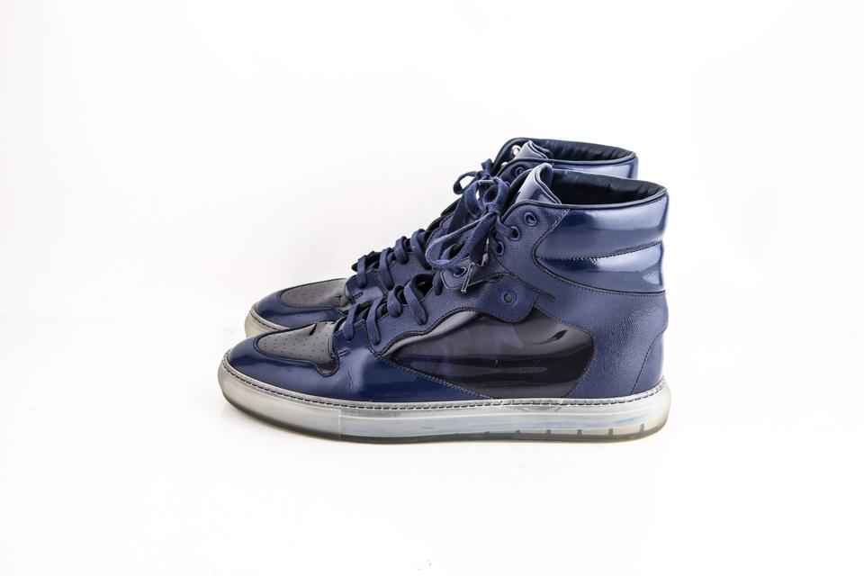 Balenciaga Trainers High Leather Patent Shoes frqtrwSx