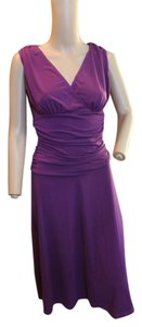 SHAPE FX short dress BOLD BRIGHT PURPLE on Tradesy