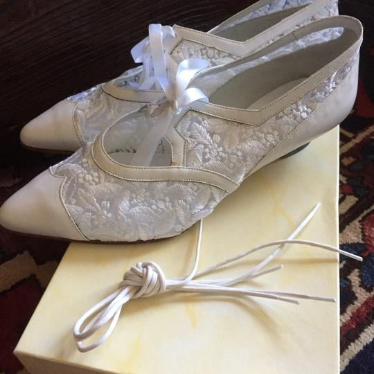 Peter Fox Vintage Victorian Bridal Lace Classic white Formal Image 7