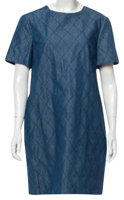 Preload https://img-static.tradesy.com/item/21882636/kate-spade-blue-chambray-quilted-shift-mid-length-workoffice-dress-size-6-s-0-1-650-650.jpg