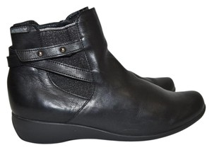 Mephisto Wedge BLACK LEATHER Boots