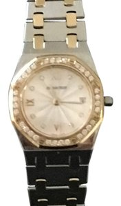 Audemars Piguet Ladies Steel & Gold with Diamonds Royal Oak #575