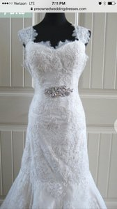 Martina Liana Beautiful Lace Dress. Martina Liana 441 Wedding Dress
