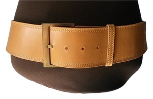 Anne Klein Anne Klein New York Italian Calfskin Leather Belt