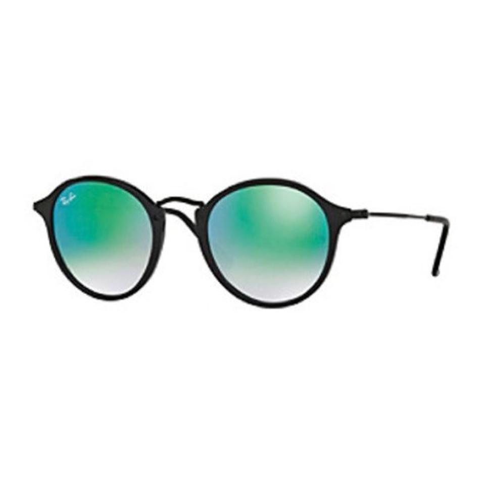 fcec52492c Ray-Ban Black Sun May Eye Wear  Rb2447-black Frame Green Lens-mirror ...