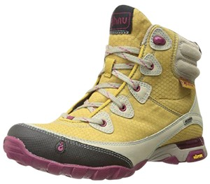 Ahnu Hiking Hiker yellow Boots