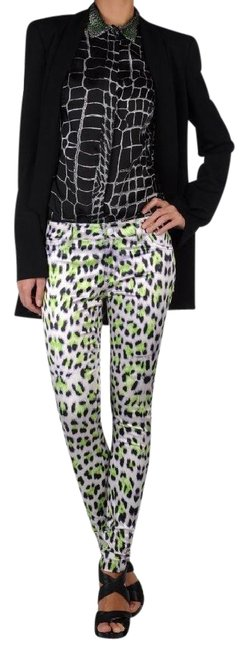 Item - Multi-color Animal Print Stretch Casual Pants Size 10 (M, 31)