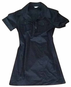 Four stars short dress Black on Tradesy