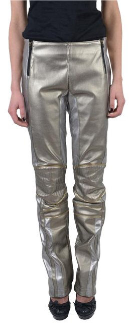 Item - Multi-color Women's Sparkle Leather Pants Size 6 (S, 28)