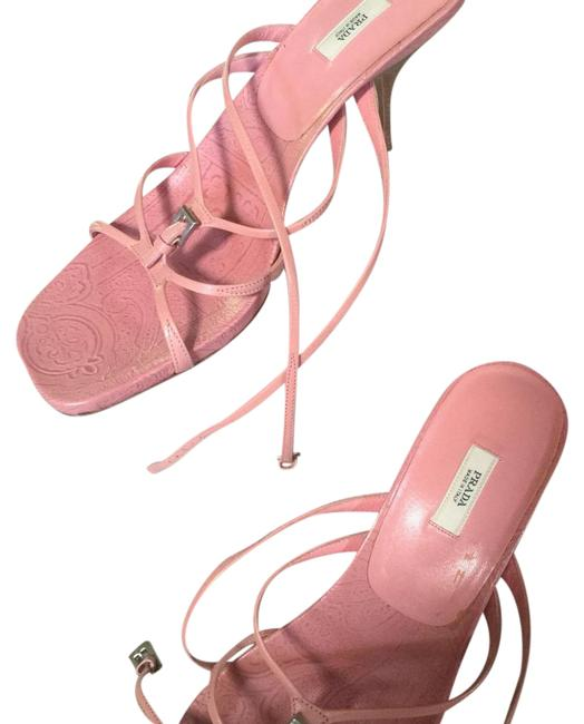 Item - Baby Pink 1/2 Inch Heel Sandals Size US 11 Regular (M, B)