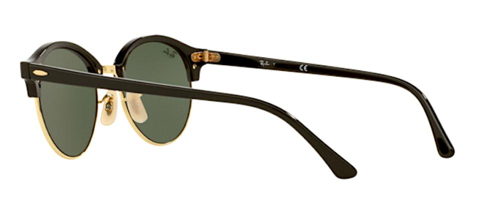 d0b177892f Ray-Ban Black Rb 4246 901 New - Clubround Free 3 Day Shipping Sunglasses -  Tradesy