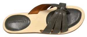 Gentle Souls Grey Sandals