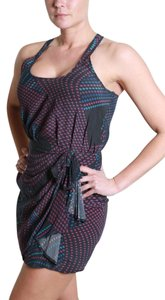 Charlie Jade short dress Charcoal, Blue, & Purple Summer Music Fesitval Lunch Date Racerback on Tradesy