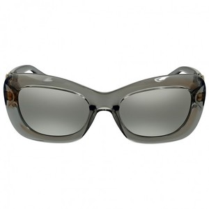 Versace Transparent Grey Gradient Ladies Sunglasses