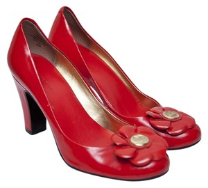 Anne Klein Tomato Red Pumps