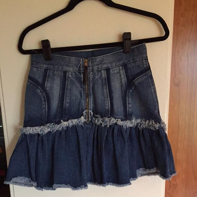 Dolce&Gabbana Skirt Blue Denim