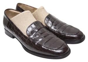 Bruno Magli Dark Brown Flats