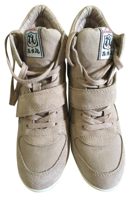 Item - Cocco (Beige) Bowie Wedge Sneakers Size EU 38 (Approx. US 8) Regular (M, B)