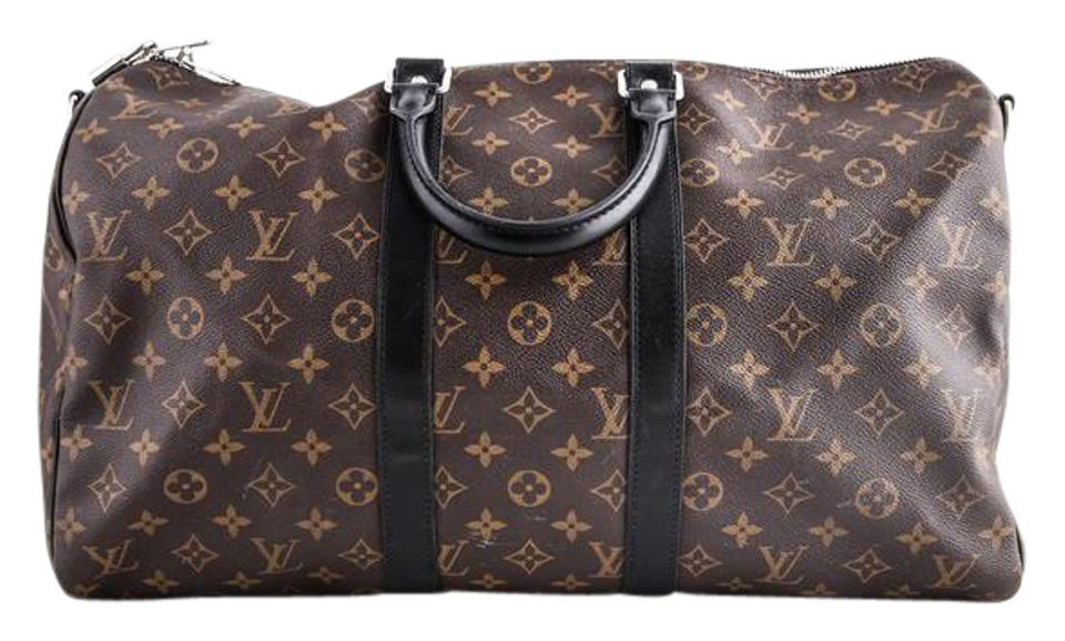 49dd0676e7f8 Louis vuitton keepal bandoulliere monogram macassar canvas weekend travel  bag jpg 960x578 Louis vuitton macassar tote