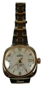 Shinola Gomelsky 36mm Two Tone Stainless Steal - Rose Gold Watch